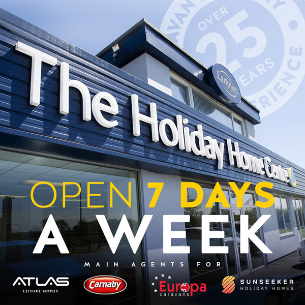 Open 7 days a week. Main agents for: Carnaby, Atlas, Europa, Sunseeker
