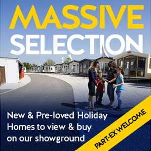 Massive selection. New & Pre-loved Holiday Homes to view & buy on our showground. Park-ex welcome.