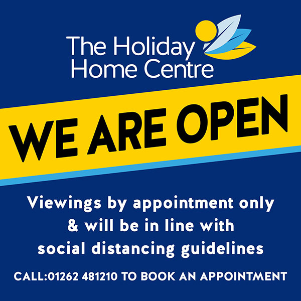 We are open. Viewings by appointment only & will be in line with social distancing guidelines. Call 01262 481210 to book an appointment.